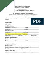 Form I.1 IRC Application (e)