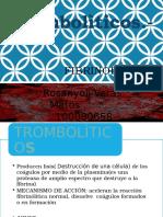 fibrinoliticos