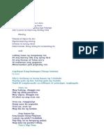 Filipino Folk Song