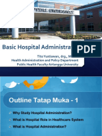 Hospital Administration