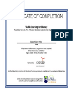 webinar certificate with name