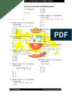 Ejercicios de Algebra - Plantilla