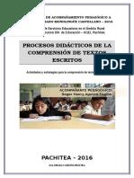 Separata-procesos Didacticos de La Comprensión de Textos Escritos