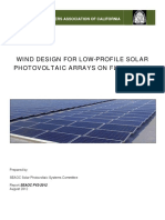 SEAOC PV2-2012 Wind Design for Low-Profile Solar PV Arrays on Flat Roofs
