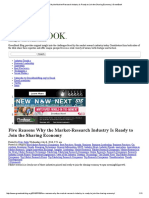 Five Reasons Why the Market-Research Industryis Ready to Join the Sharing Economy _ GreenBook