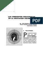 LAS CORRIENTES PEDAGOGICAS EN COLOMBIA.pdf