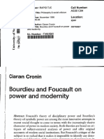 Bordieu and Foucault