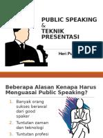 Public Speaking Heri Purnomo