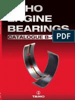 TAIHO Engine Bearings Catalogue for Japanese Vehicles 2015 B-18; Вкладыши двигателя Taiho 2015 B-18