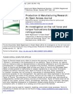 An investigation on the roll force and torque fluctuations during hot strip rolling process.pdf