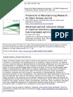 advanced optimal tolerance design of machine elements using teaching learning based optimizatrion algorithm.pdf