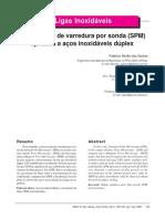 Microscopia de Varredura Por Sonda (SPM) Aplicada a Aços Inoxidáveis Duplex