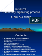 9. Community Organizing Process