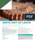 Tarte Owt of Lente Wk1