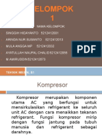 Kompresor Swash Plate