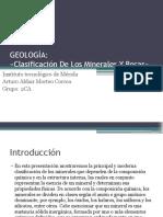 Clasificación de Rocas y Minerales 2