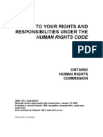 Ontario Human Rights Gude Responsibilities