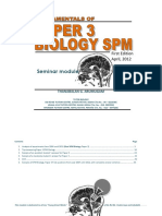 Fundamentals of Paper 3 Biology SPM