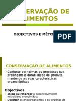 3 - Aula de CONSERVAÇÃO DE ALIMENTOS