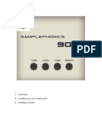 Samplephonics 909 Manual