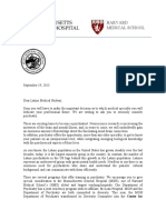 2013 Latino Med Students Letter