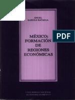 México formación de regiones socioeconómicas