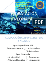 Hidratacion Neonatal