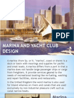 Marina and Yacht Design