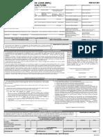 Pag-IBIG Fund Multi Purpose Loan Application SLF001 V03