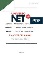 """Ejemplo de Interpretacion """"Test Del Animal"""""""
