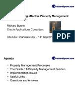 Property Manager 11i