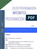 Modelos de Programacion No Lineal 1.