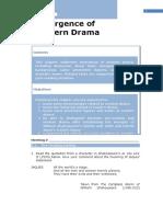 Chapter 1 - Emergence of Modern Drama