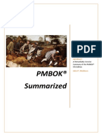 PMBOK Summarized