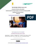 2016 Horizon Inf Primaria Secundaria INTEF Resumen