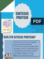 Sintesis Protein (andhini)