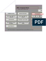 Payroll Solution in single Sheet......xls
