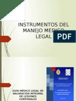 19 Instrumentos en Medicina Legal