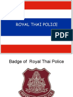 Royal Thai Police Cps