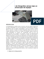 Nro.02 Orientación de Fotografías Aéreas Bajo Un Estereoscopio de Espejos