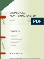 Biomedical Monitering System