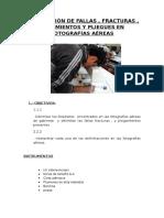 Nro.07 Delimitación de Fallas, Fracturas, Buzamientos y Pliegues