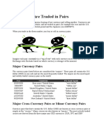 Lesson 003 -Currencies Are Traded in Pairs