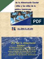Alimentacion Escolar Rep Dominicana