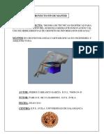 Memoria Proyecto Fin de Master Pedro Carrasco García