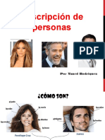 descripcion de personas