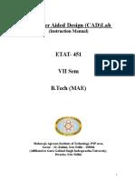 CAD Lab ETAT 451_Lab Manual_FInal