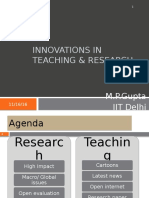 Innovations in Teaching & Research