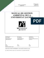 Manual de Gestion Ambiental Universidad Jumet