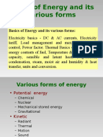 1.2 Basics of Energy and Its Various FormsN